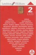 TARJETA TELEFONICA DE LETONIA, (059) - Latvia