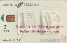TARJETA TELEFONICA DE LETONIA, (060) - Latvia