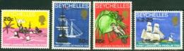 SEYCHELLES 1968 Praslin Island Landing Anniversary Fauna MNH - Seychelles (1976-...)