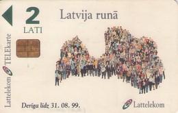 TARJETA TELEFONICA DE LETONIA, (066) - Latvia