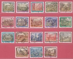 1984 -1992  (Gest./Obl./Used)  Stifte Und Klöster Complete (18v.) - Géographie