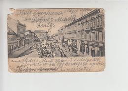 Szeged, Used 1906 Postcard (st304) Damaged - Hungary