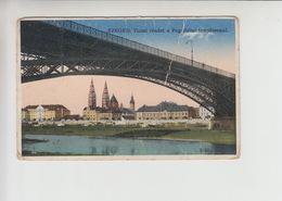 Szeged, Used 1914 Postcard (st306) Damaged - Hungary