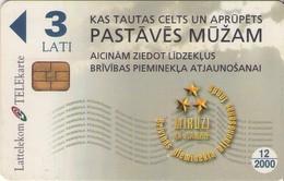 TARJETA TELEFONICA DE LETONIA, (069) - Latvia