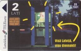 TARJETA TELEFONICA DE LETONIA, (071) - Letonia