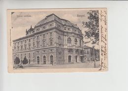Szeged, THEATRE Used 1906 Postcard (st314) - Hungary