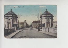 Szeged, TRAM Tramway Strassenbahn Used 1916 Postcard (st315) Damaged - Hungary