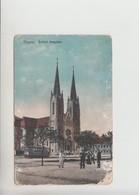 Szeged, TRAM Tramway Strassenbahn Used 1916 Postcard (st316) Damaged - Hungary