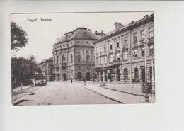 Szeged, TRAM Tramway Strassenbahn Used 190? Postcard (st317) - Hungary
