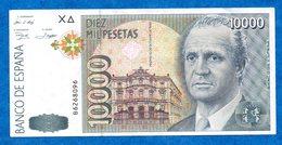 Espagne - 1992/96 - Juan CARLOS - Billet De 10 000 Pesetas  - World N° 166   Tres Bon état   Voir Scans - [ 4] 1975-… : Juan Carlos I