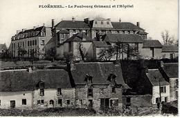 56 - PLOERMEL - T.Belle Vue Du Faubourg Grimaud Et L'Hôpital - Ploërmel