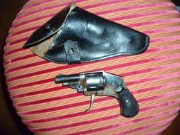 Petit Pistolet Année 1870 De Femme En Parfait état ! Avec Son étuit - Armes Neutralisées