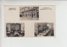 Szeged, TOMBAC BEERHOUSE Used 1943 Postcard (st323) - Hungary