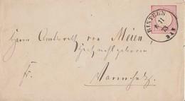 DR GS-Umschlag K1 Rinteln 6.11.73 Gel. Nach Varenholz - Briefe U. Dokumente