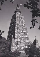 CARTOLINA - POSTCARD - INDIA - BODH GAYA, TEMPLE BIHAR - India