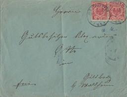 DR Brief Mef Minr.2x 47 KOS Rothwasser (Oberlausitz) 8.6.97 - Deutschland