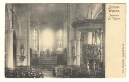 #11582[Postkaart] Basse- / Wavre. / Intérieur / De L'Eglise. / Nels, Serie 79 No. 12. [neerwaver Waver Kerk Kerkstoelen - Wavre
