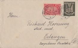 DR Brief Mif Minr.220,237 Aschaffenburg - Deutschland