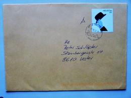 """SUISSE / SCHWEIZ / SWITZERLAND // 2012, Brief Mit Sondermarke """"Pop Art / James BOND"""", Gest.: TRIMBACH 23.10.12 - Suiza"""