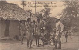 Congo Belge-Belgisch Congo M.Franck Minister Van Koloniën Op Reis, Ministre Des Colonies En Route.Stempel Boma - Congo Belga - Otros