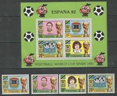 TANZANIA - MNH - Sport - Soccer - World Cup - Spain 1982 - World Cup
