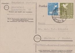 Gemeina. Kahrte Zehnfach Minr.950,959 Bielefeld 22.6.48 - Gemeinschaftsausgaben