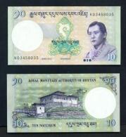 BHUTAN  -  2013  10 Ngultrum  UNC Banknote - Bhutan