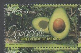 MEXICO, 2017, MNH,AVOCADOS, THE GREEN GOLD OF MEXICO!,  1v - Vegetables