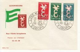 """1958 - """" LUXEMBURGO """" FDC EUROPA CEPT VEDI++++ - Europa-CEPT"""