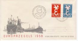 """1958 - """" OLANDA """" FDC EUROPA CEPT VEDI++++ - Europa-CEPT"""