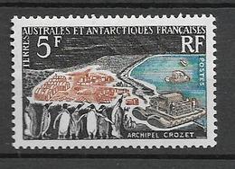 1963 MNH TAAF - Unused Stamps