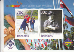 2007 Bahamas Boy Scouts Scouting  Souvenir Sheet MNH - Bahamas (1973-...)