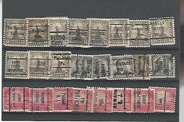 50428 ) Collection Precancel - Stati Uniti