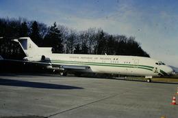 DIAPOSITIVA  SLIDE  AEREO Boeing 727 Federal Republic Of Nigeria  A ZURIGO - Diapositives (slides)
