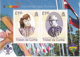 2007 Tristan Da Cunha Boy Scouts Scouting  Souvenir Sheet MNH - Tristan Da Cunha
