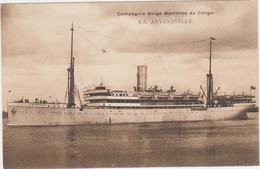 Congo Belge-Belgisch Congo Compagnie Belge Maritime Du Congo SS Anversville - Congo Belga - Otros