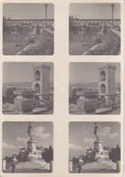 Stereo-Fotos Florenz Firenze - Ponte Vecchio - David - S. Nicolo (33763) - Stereoscopic