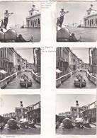 Stereo-Fotos Venedig Venezia - Canal Gondel Etc. (33764) - Stereoscopic
