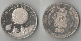 GUINEE   250   FRANCS 1969  ARGENT - Guinée