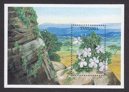 Tanzania, Scott #1048, Mint Never Hinged, Flowers, Issued 1993 - Tanzania (1964-...)