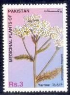 PAKISTAN 1996, YARROW Medicinal Plants Of Pakistan, 1v MNH - Pakistan