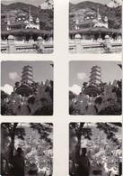 Stereo-Fotos Florenz Firenze - Pagoden (33770) - Stereoscopic