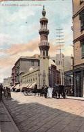 AFRICA - EGITTO: ALEXANDRIE - MOSQUE ATTARINE  - E - F/P - V: 1910 - Alexandria