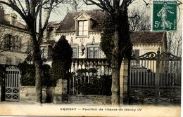 78 CROISSY-SUR-SEINE - Pavillon De Chasse De Henry IV - Croissy-sur-Seine