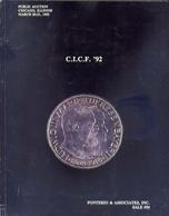C.I.C.F.  Ponterio E Associates Inc Sale 54 - Public Auction Chicago Illinois - Catalogo D'asta - March 20-21-1992 - Libri & Software