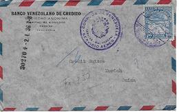 VENEZUELA 1936 Cover Posted 1 Stamp COVER USED - Venezuela