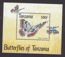 Tanzania, Scott #1056, Mint Never Hinged, Butterflies, Issued 1993 - Tanzanie (1964-...)