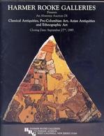 Harmer Rooke Galleries - New York - Presents An Absentee Auction Of - Classical Antiquities Pre Columbian Art - Asian An - Libri & Software