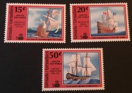Grenada Grenadines -  MNH** - 1992 - # 1299/1301 - Grenada (1974-...)