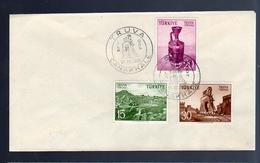 1956 Troja TRUVA Tourism Scarce Early FDC (111) - 1921-... Republic